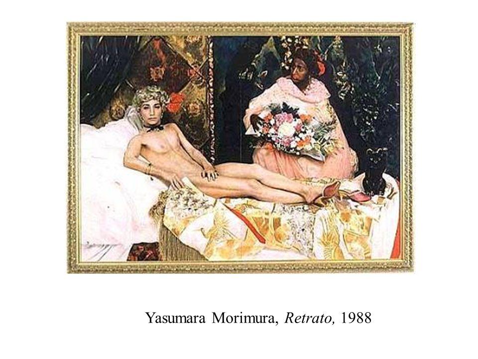 Yasumara Morimura, Retrato, 1988
