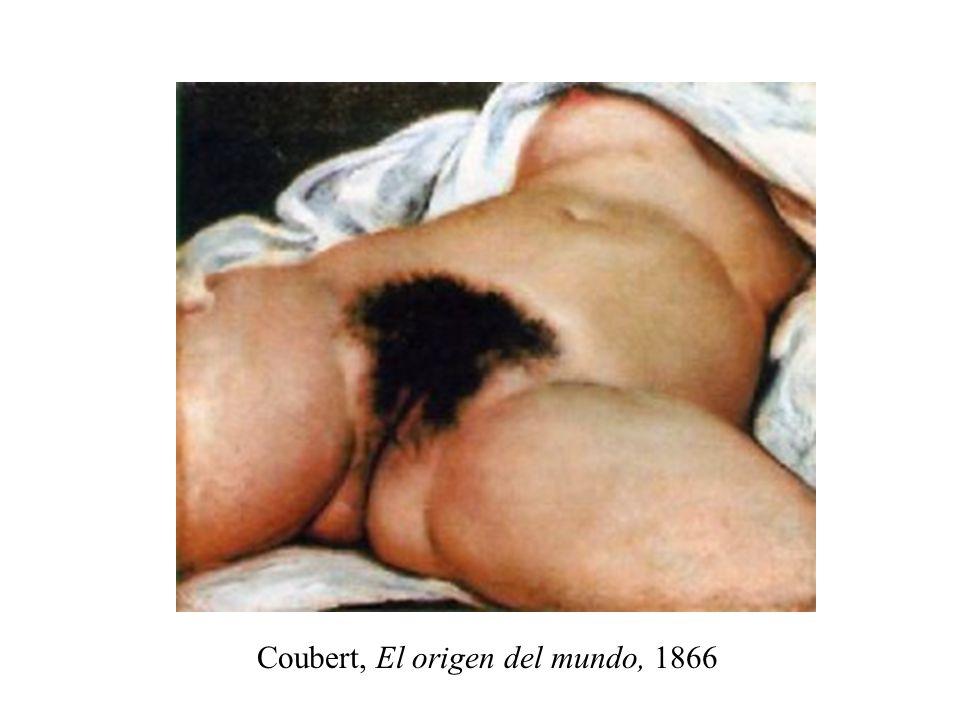 Coubert, El origen del mundo, 1866