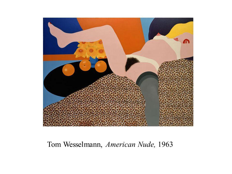 Tom Wesselmann, American Nude, 1963