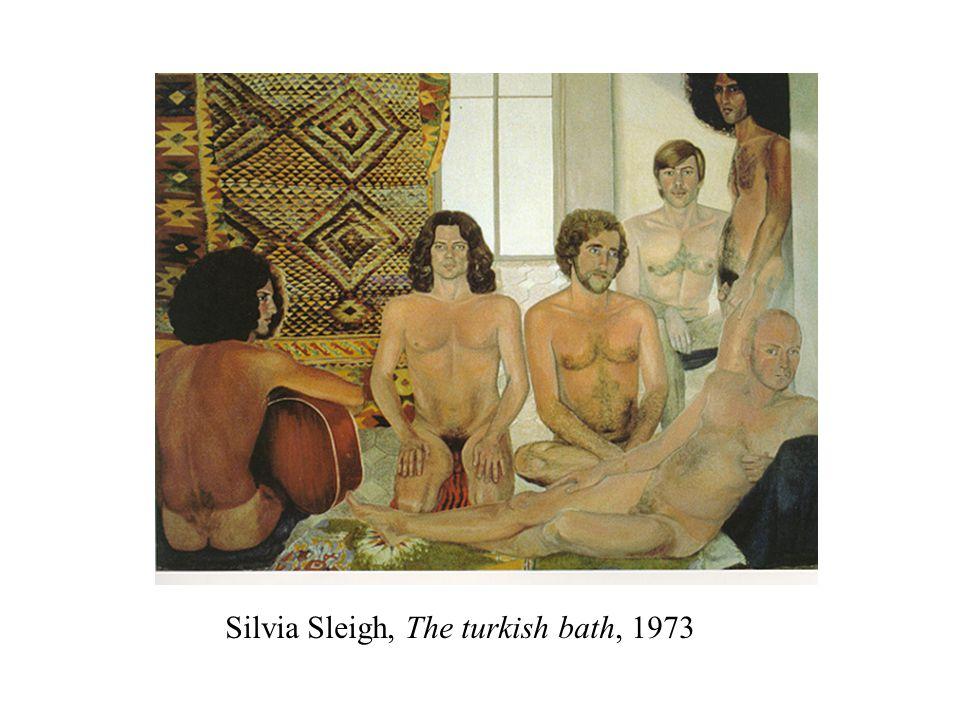 Silvia Sleigh, The turkish bath, 1973