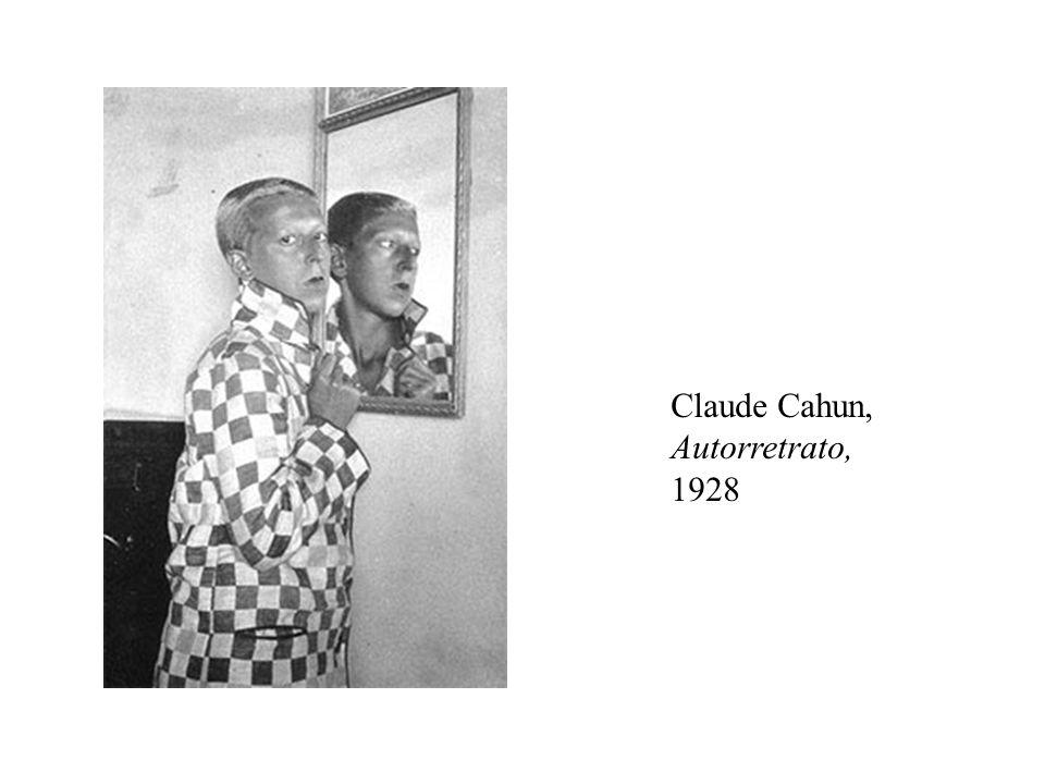 Claude Cahun, Autorretrato, 1928