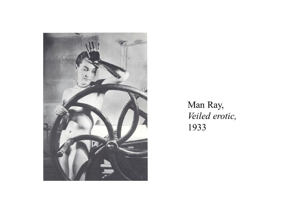 Man Ray, Veiled erotic, 1933