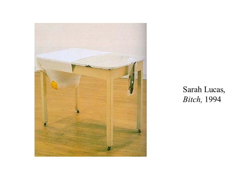 Sarah Lucas, Bitch, 1994