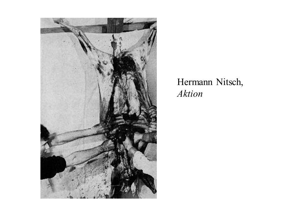 Hermann Nitsch, Aktion