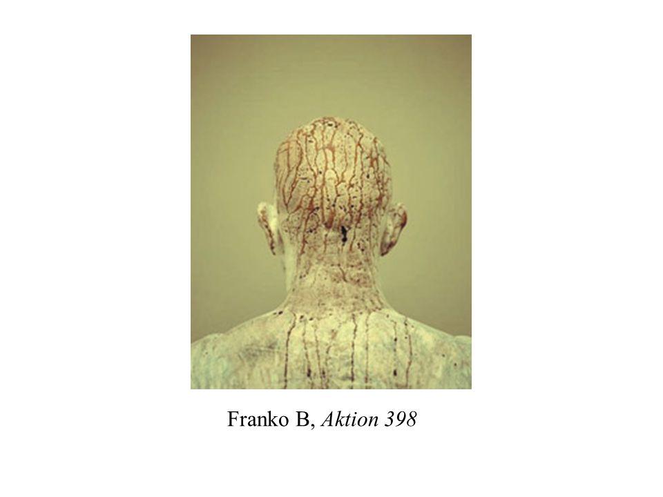 Franko B, Aktion 398