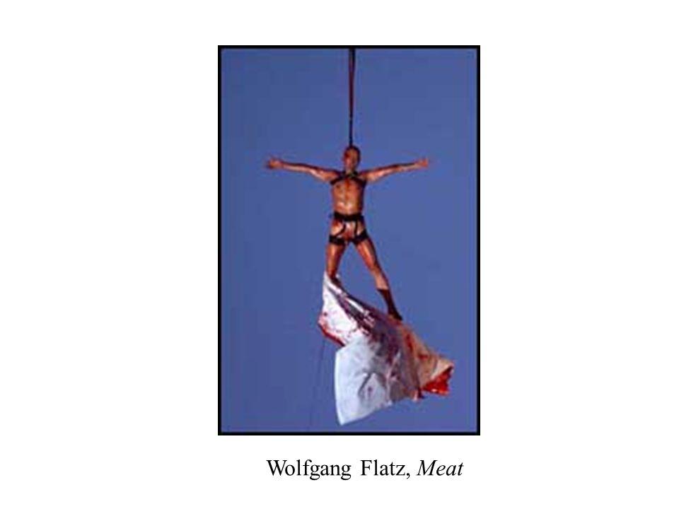 Wolfgang Flatz, Meat