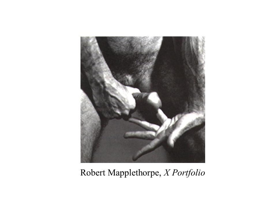 Robert Mapplethorpe, X Portfolio