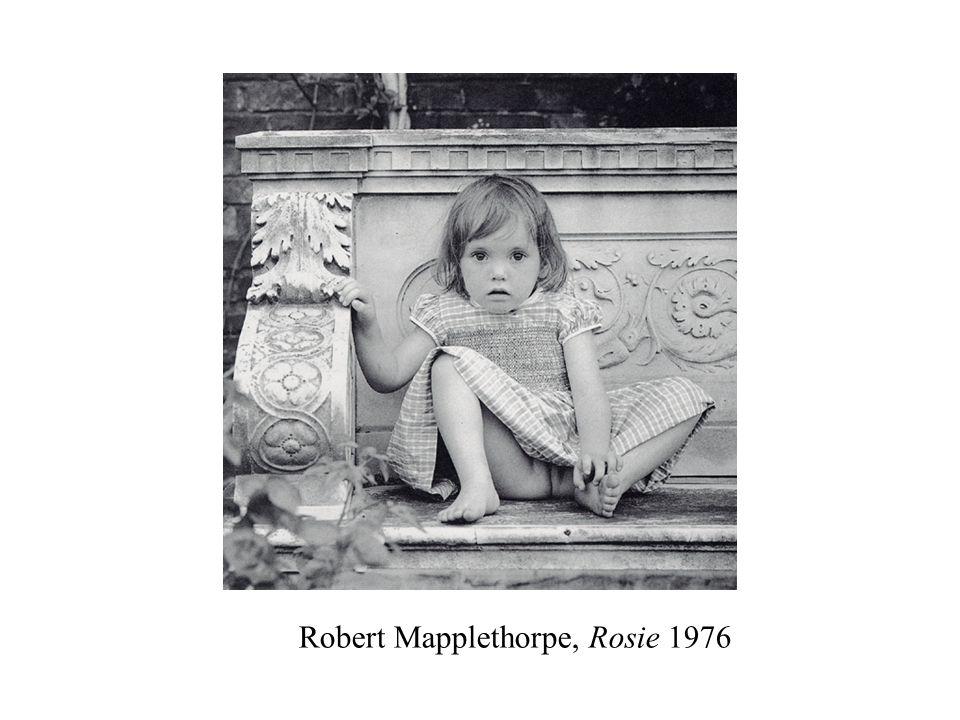 Robert Mapplethorpe, Rosie 1976
