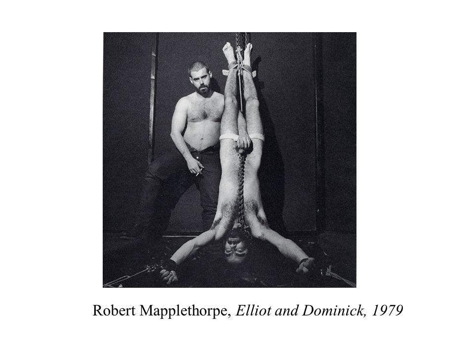 Robert Mapplethorpe, Elliot and Dominick, 1979