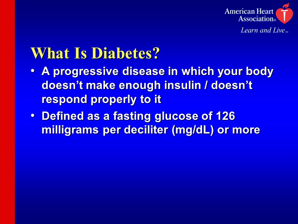 What Is Diabetes.
