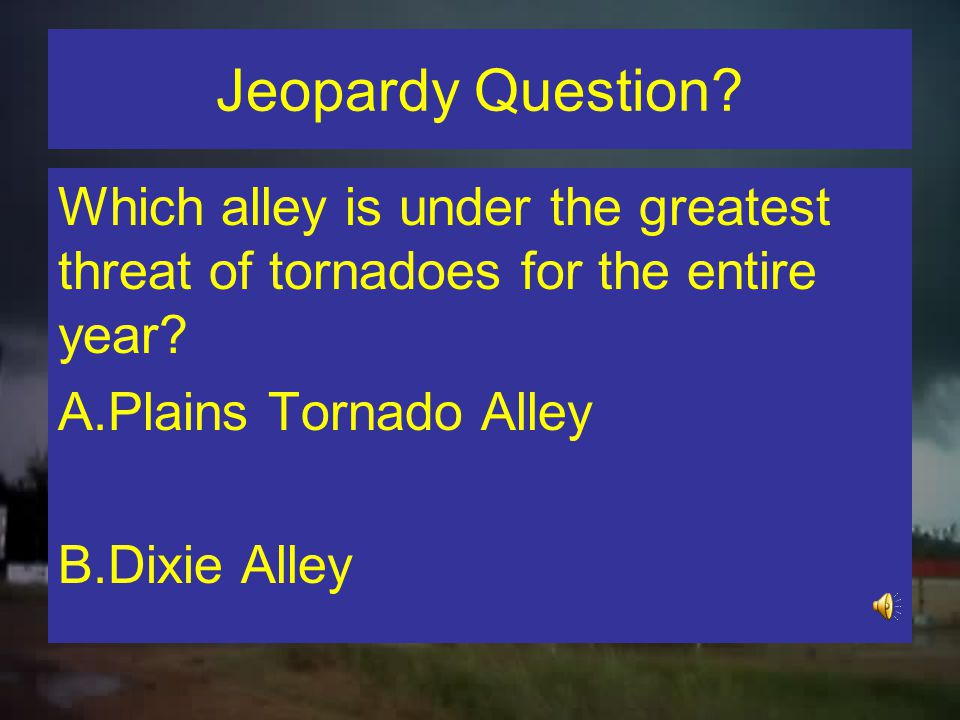 Dixie Alley However…Pearson… Named Dixie Alley after 71 Outbreak in MS Delta (no formal documentation that we can locate).