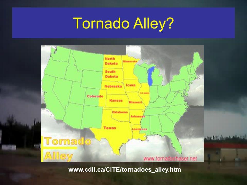 A Comparison of Tornado Statistics from Tornado Alley and Dixie Alley Alan Gerard and John Gagan NWS WFO Jackson, MS And John Gordon NWS WFO Louisvill