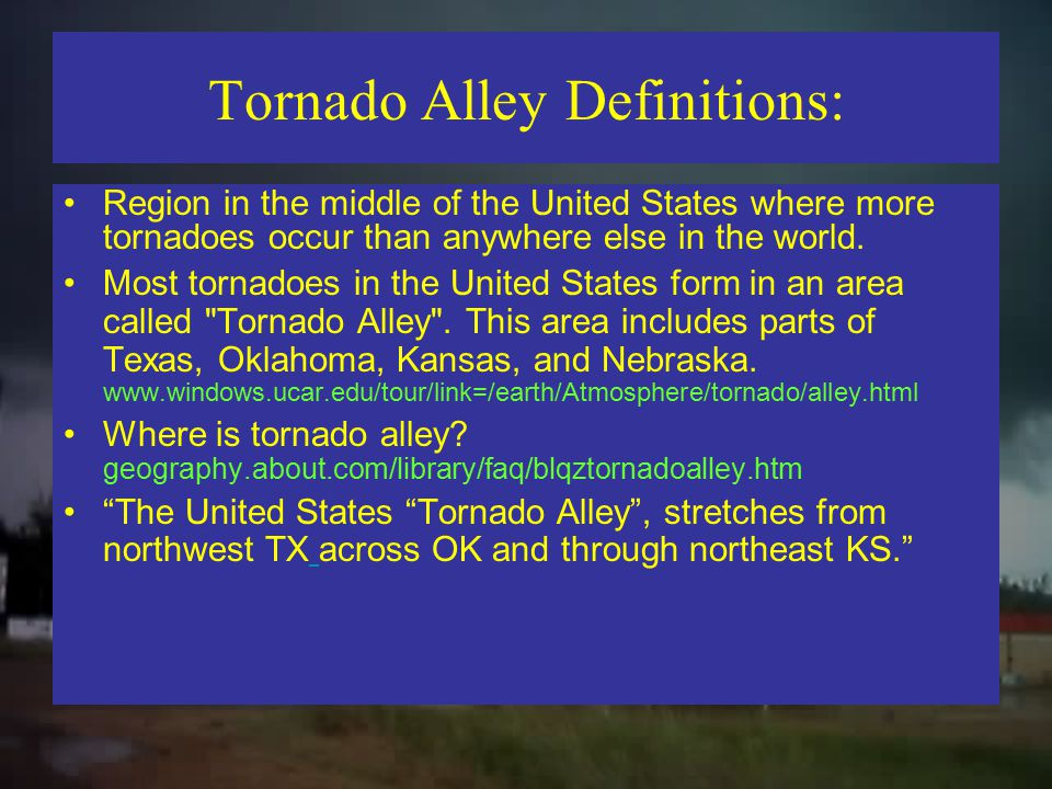 Tornado Alley? www.cdli.ca/CITE/tornadoes_alley.htm