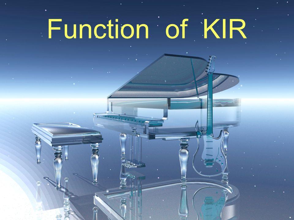 Function of KIR