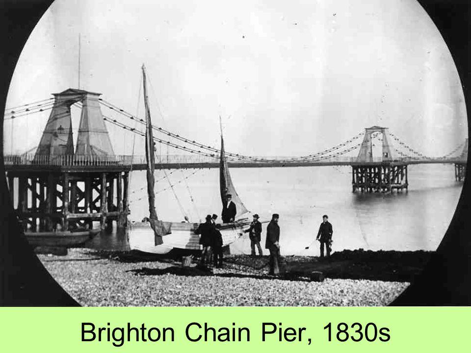 Brighton Chain Pier, 1830s