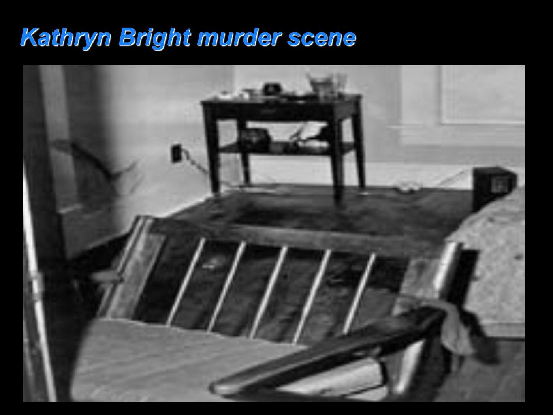 Kathryn Bright murder scene