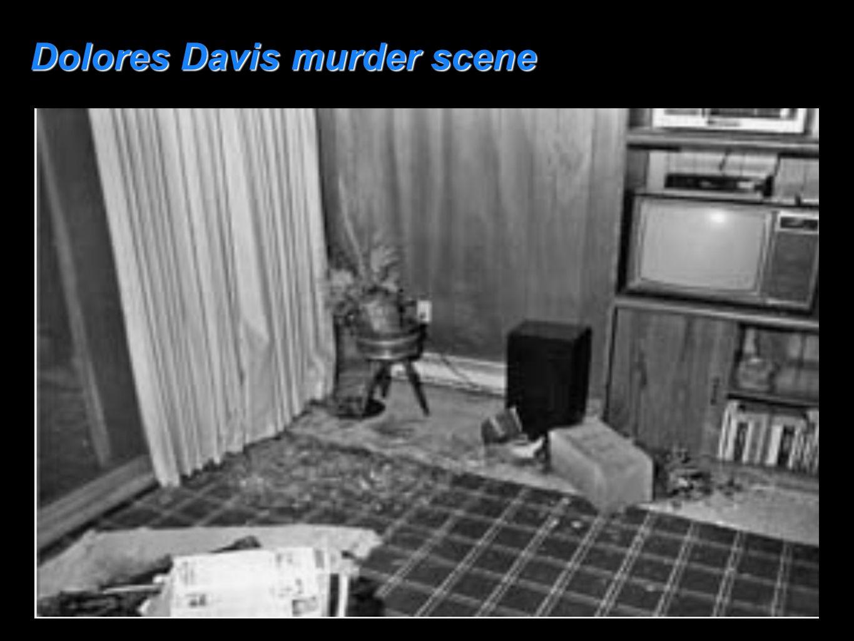 Dolores Davis murder scene