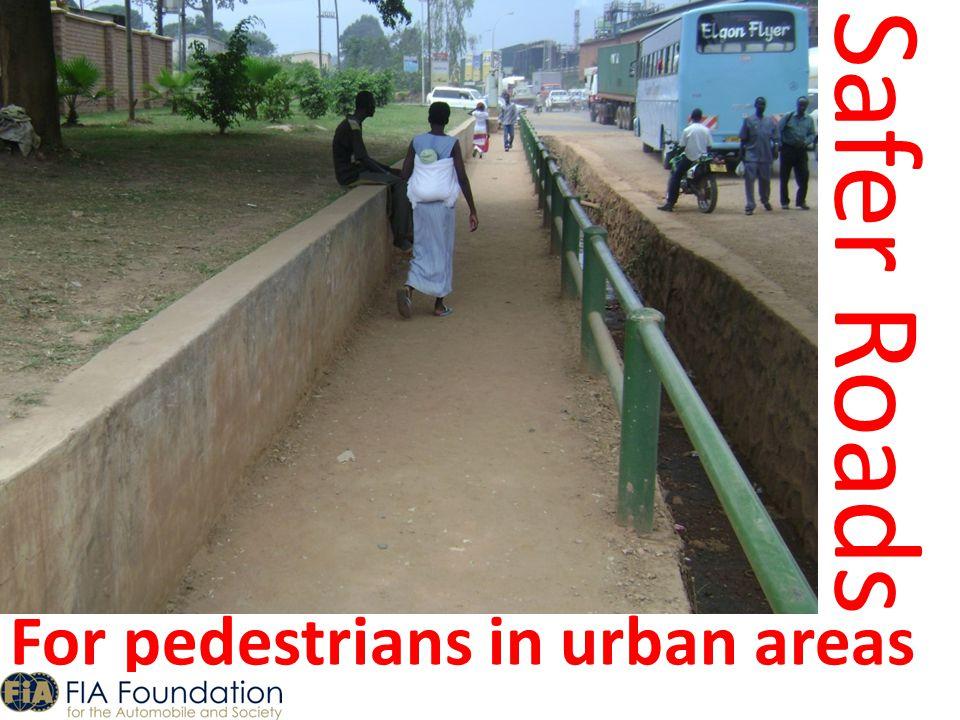 Safer Roads For pedestrians in urban areas