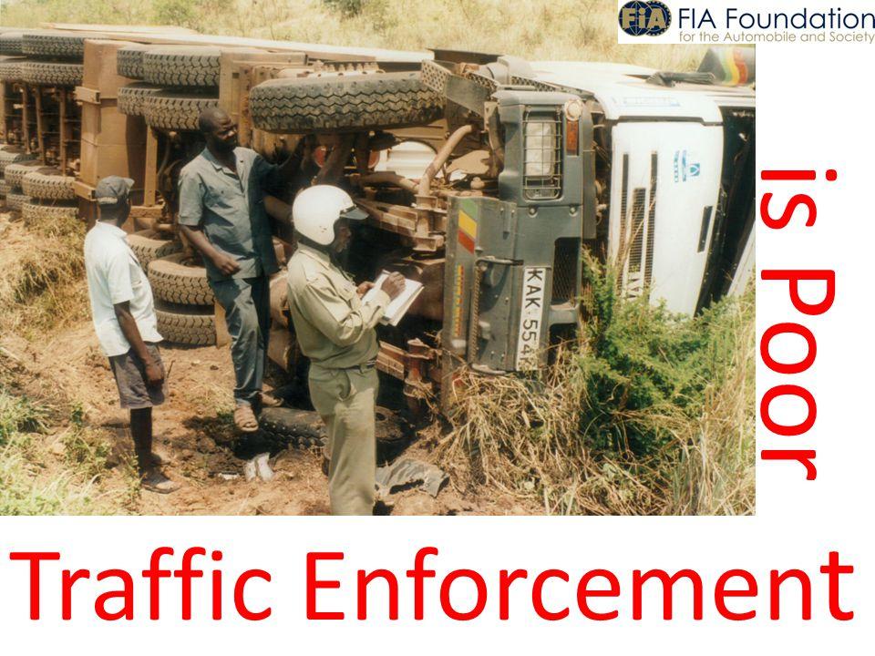 is Poor Traffic Enforcemen t