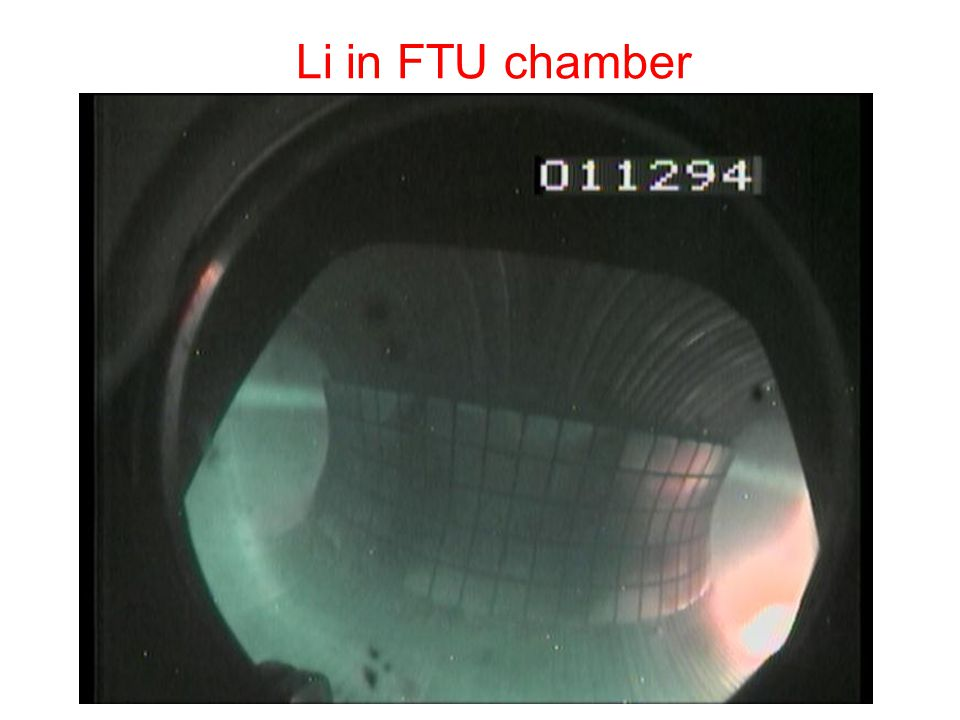 Li in FTU chamber