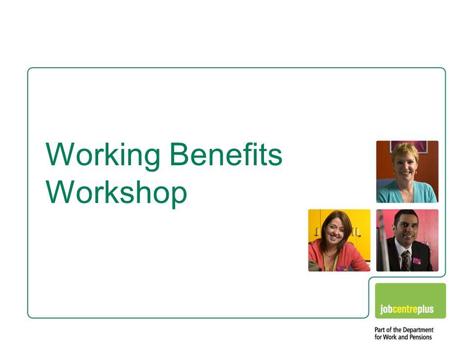 Tools Working Benefits workshop