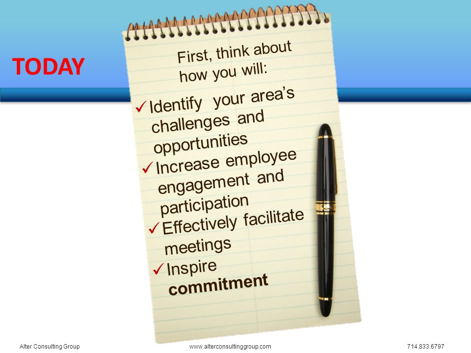 What successful meetings have you attended......and why were they successful.