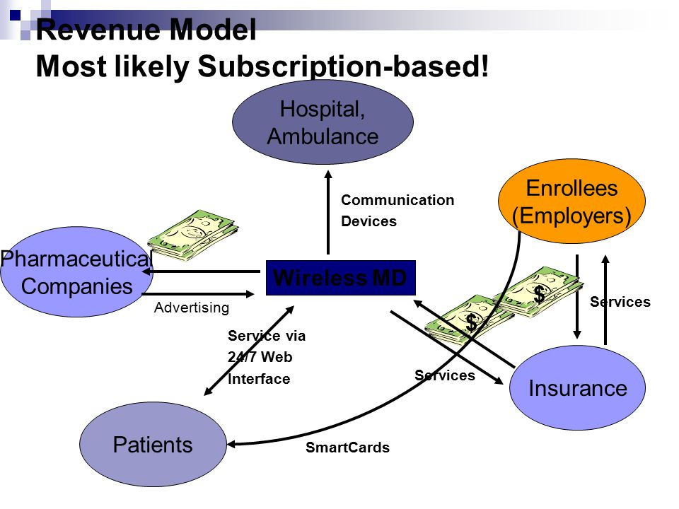 Revenue Model Most likely Subscription-based.