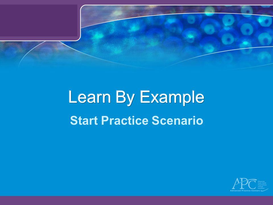 Start Practice Scenario
