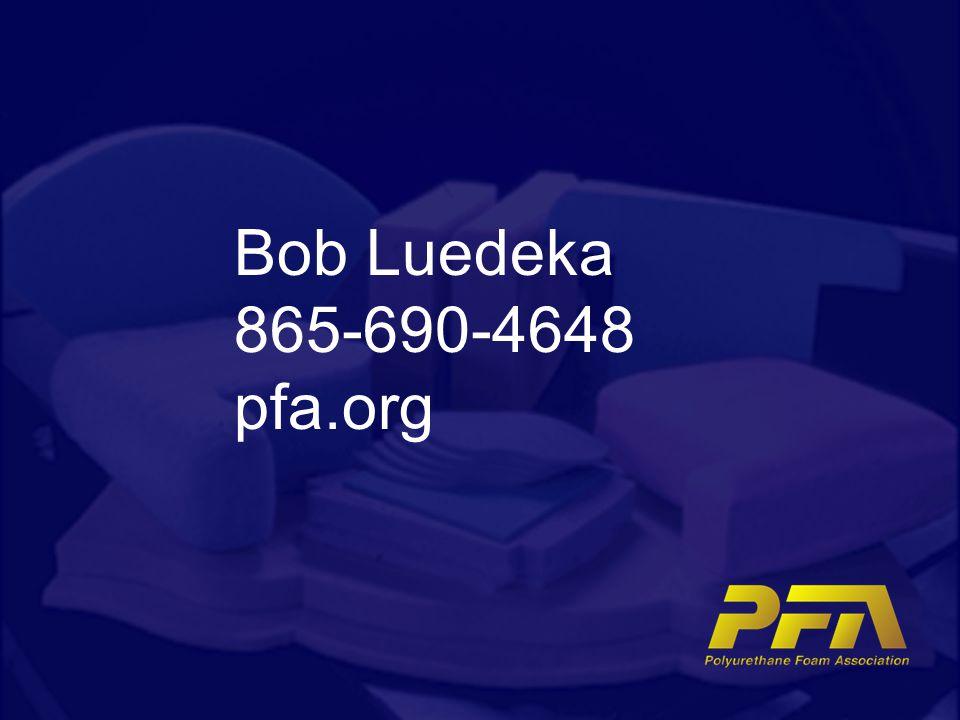 Bob Luedeka 865-690-4648 pfa.org