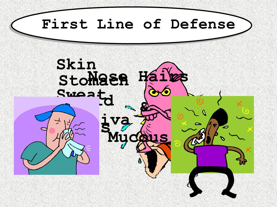 What if the first line of defense lets a pathogen by?.