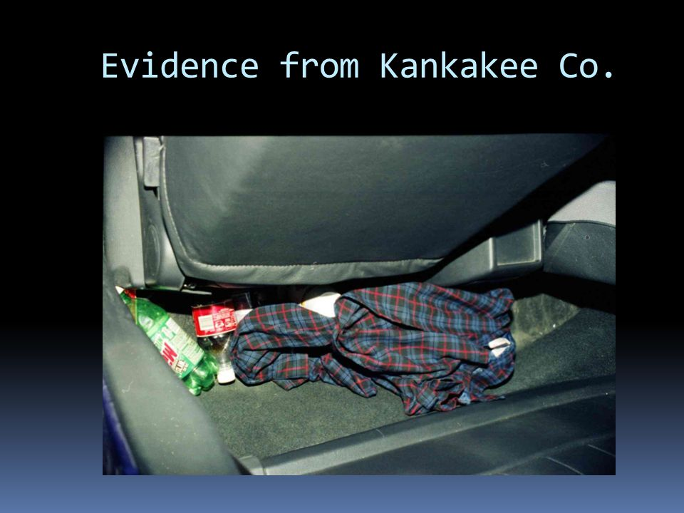 Evidence from Kankakee Co.