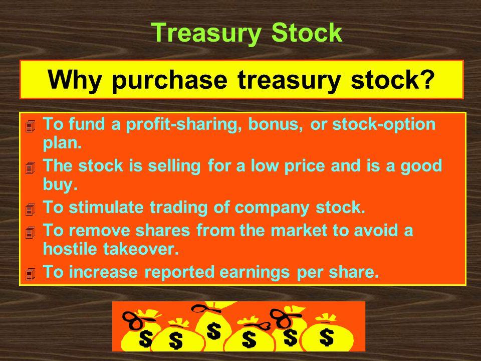 4 To fund a profit-sharing, bonus, or stock-option plan.