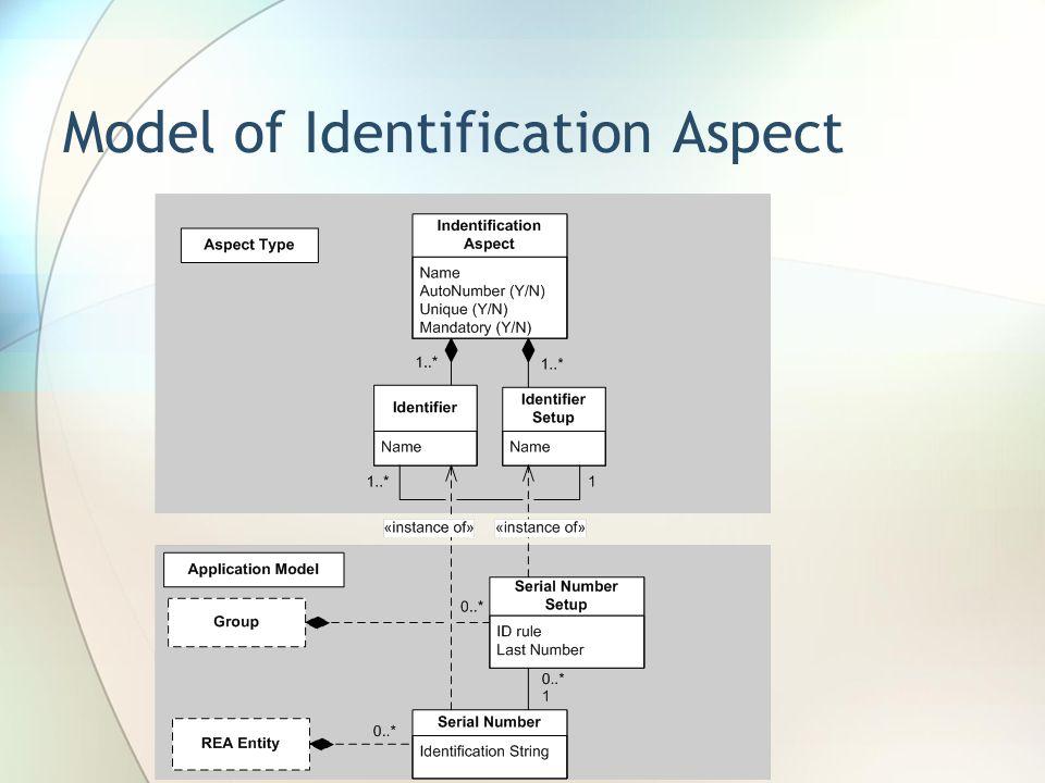 Model of Identification Aspect