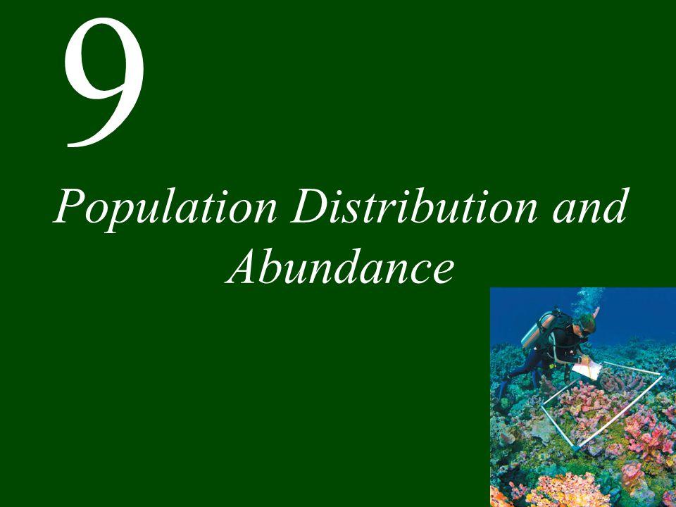 9 Population Distribution and Abundance