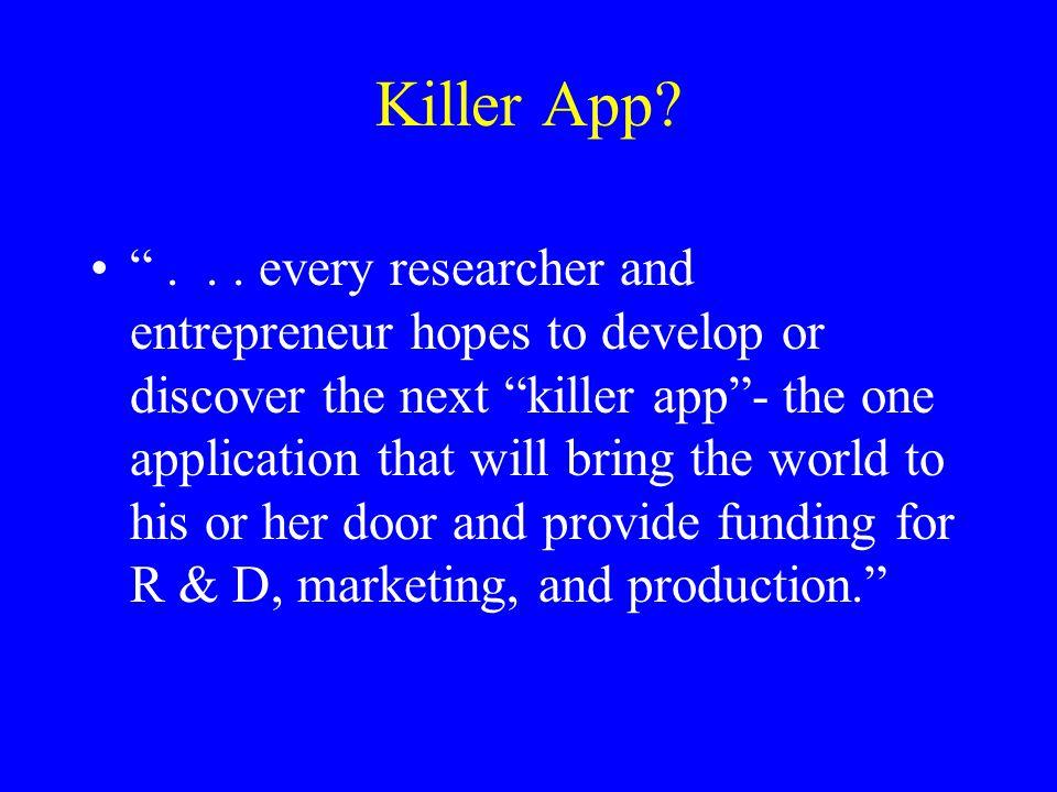 Killer App. ...