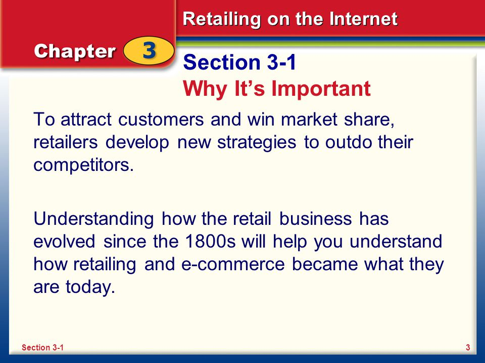 Retailing on the Internet Retailing Today Discount stores such as Wal-Mart offer very low prices.