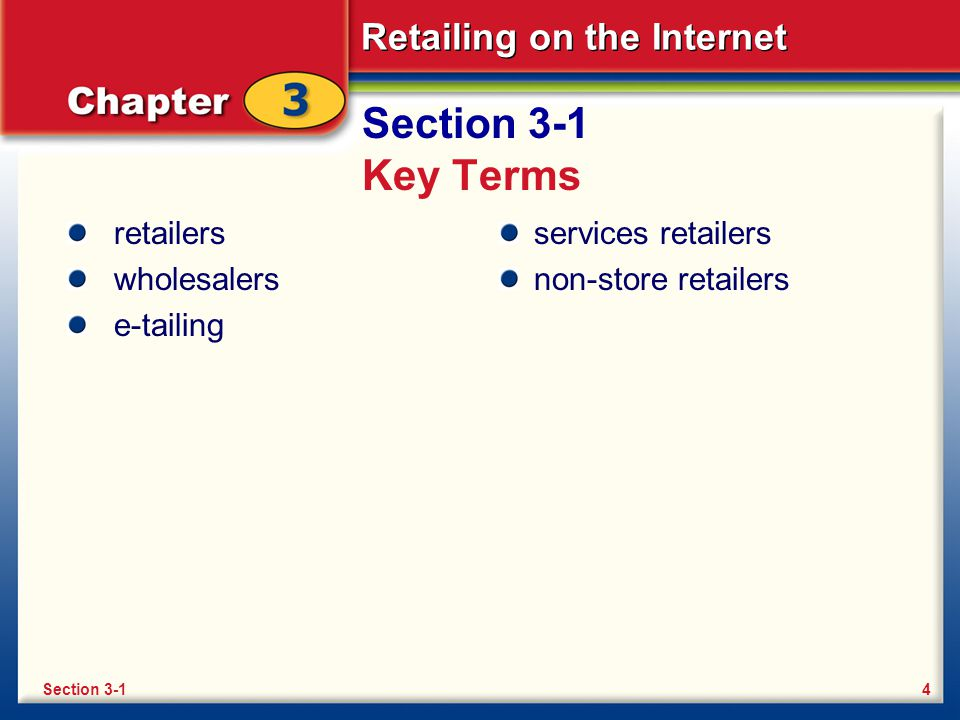 Retailing on the Internet Retailing Before E-Commerce First and foremost, retailers want your business.