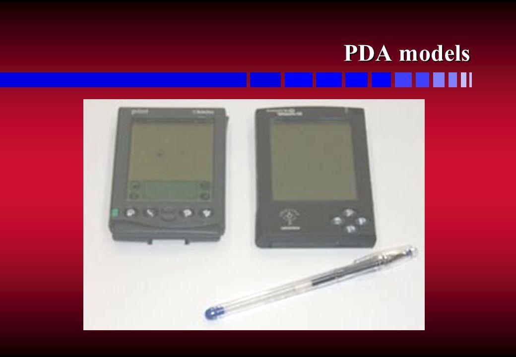 PDA models