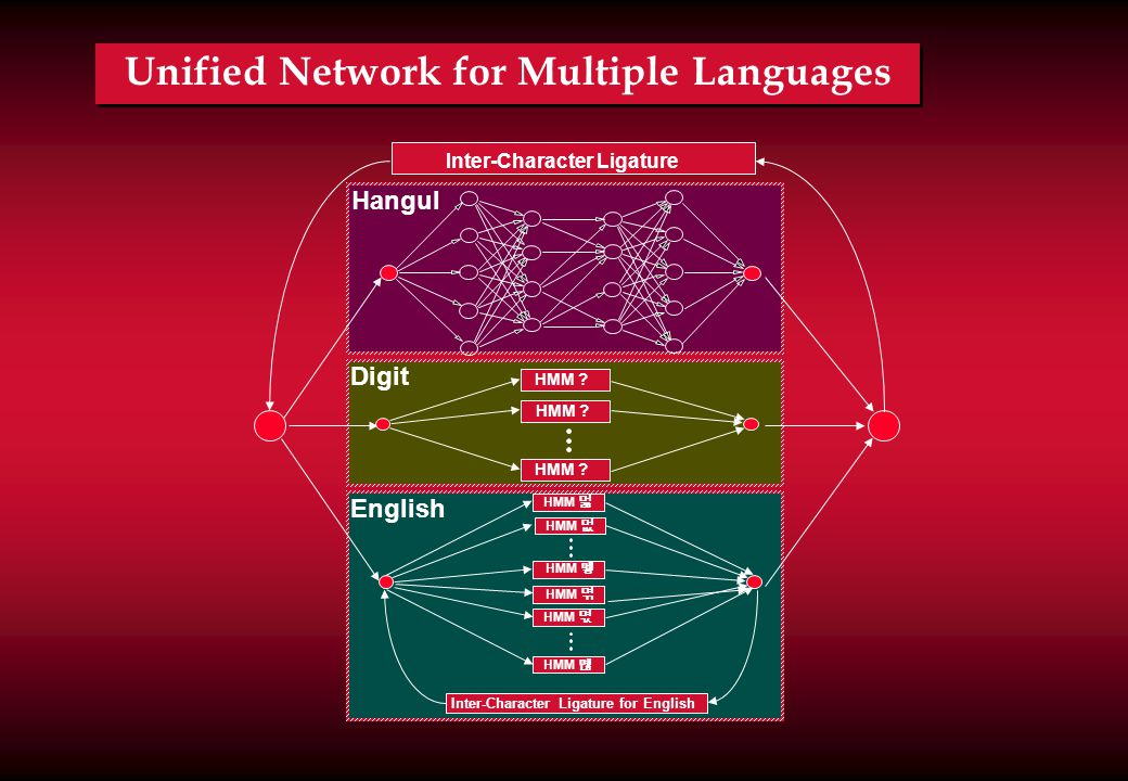 Unified Network for Multiple Languages