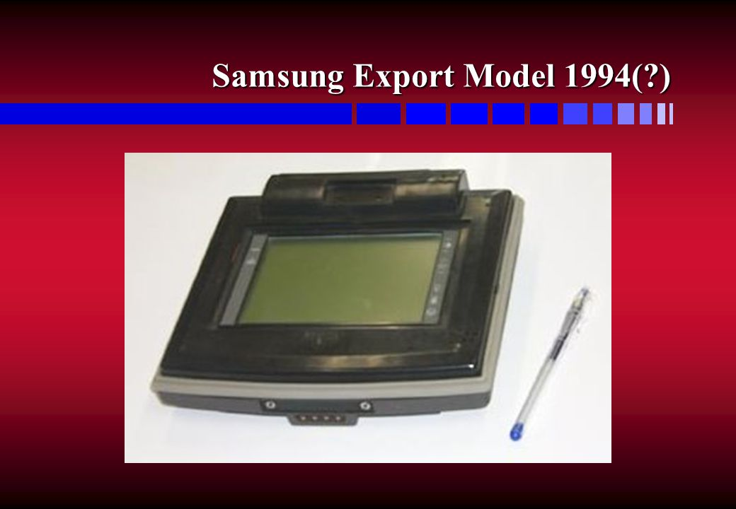 Samsung Export Model 1994( )