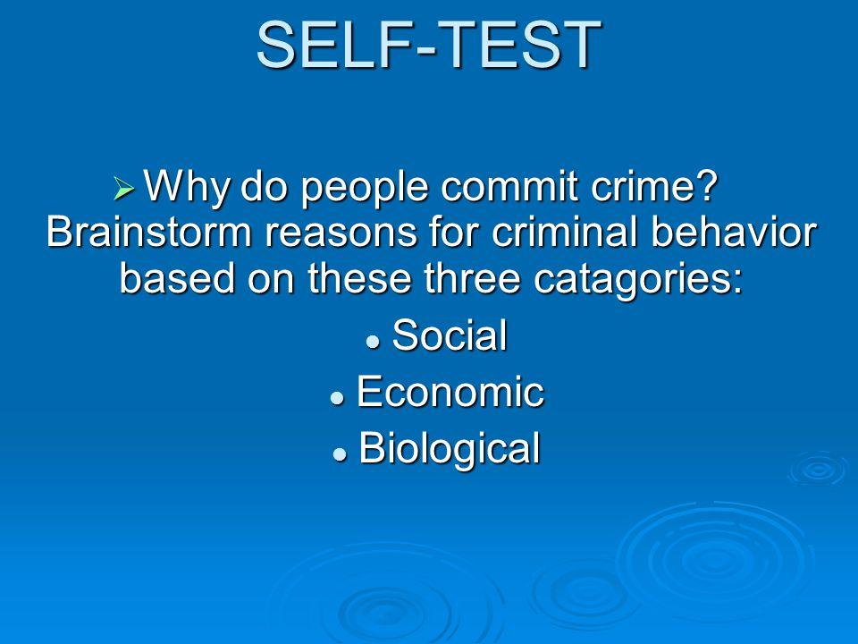 Serial Killers  Most serial killers will fall into a pattern: modus operandi (method), location, victim type, motive, etc.
