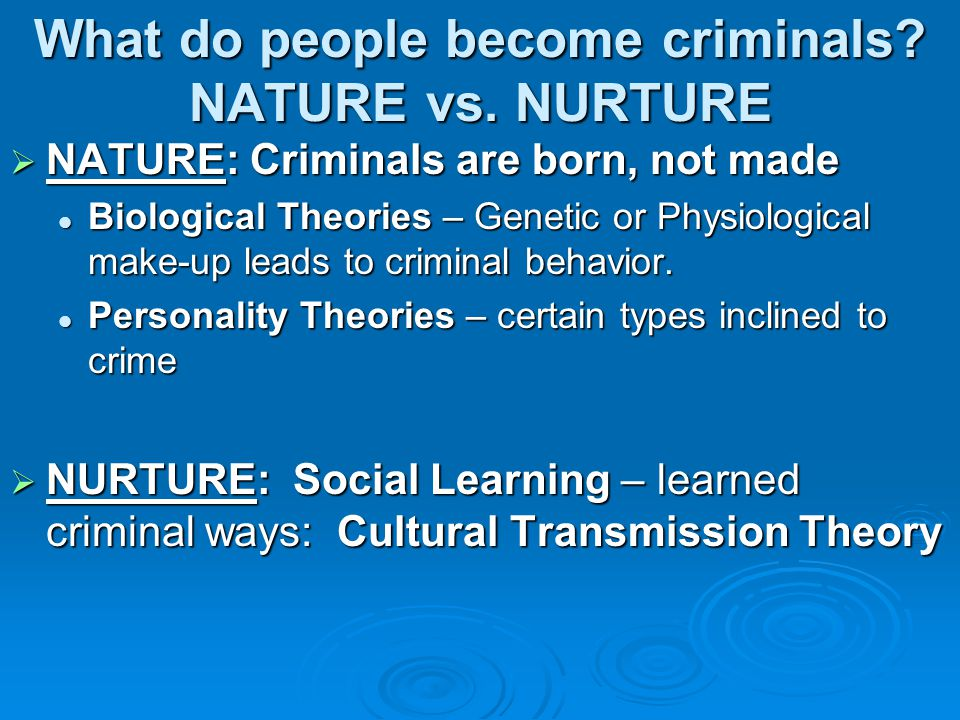 Types of serial killers (patterns) Organized  Characteristics: Socially competent (may lead a normal life) Socially competent (may lead a normal life) Intelligent Intelligent Planner Planner Generally targets strangers Generally targets strangers Uses restraints Uses restraints Has sex with their victims Has sex with their victims Follows their crimes in the media Follows their crimes in the media Returns to scene Returns to scene  Very difficult to catch