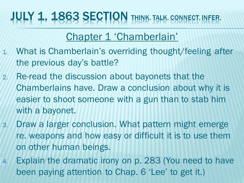 Chapter 1 'Chamberlain' 1.