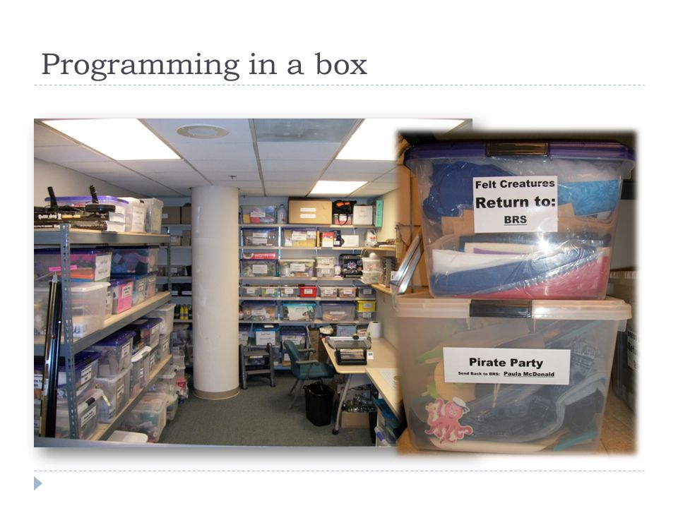 Programming in a box