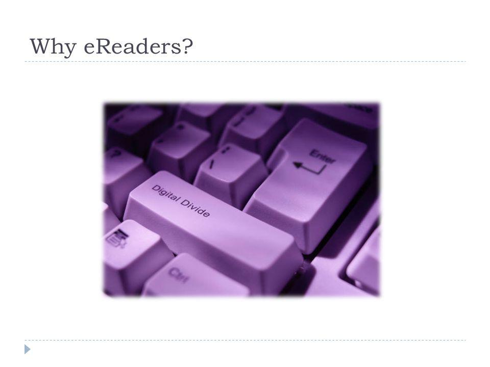 Why eReaders