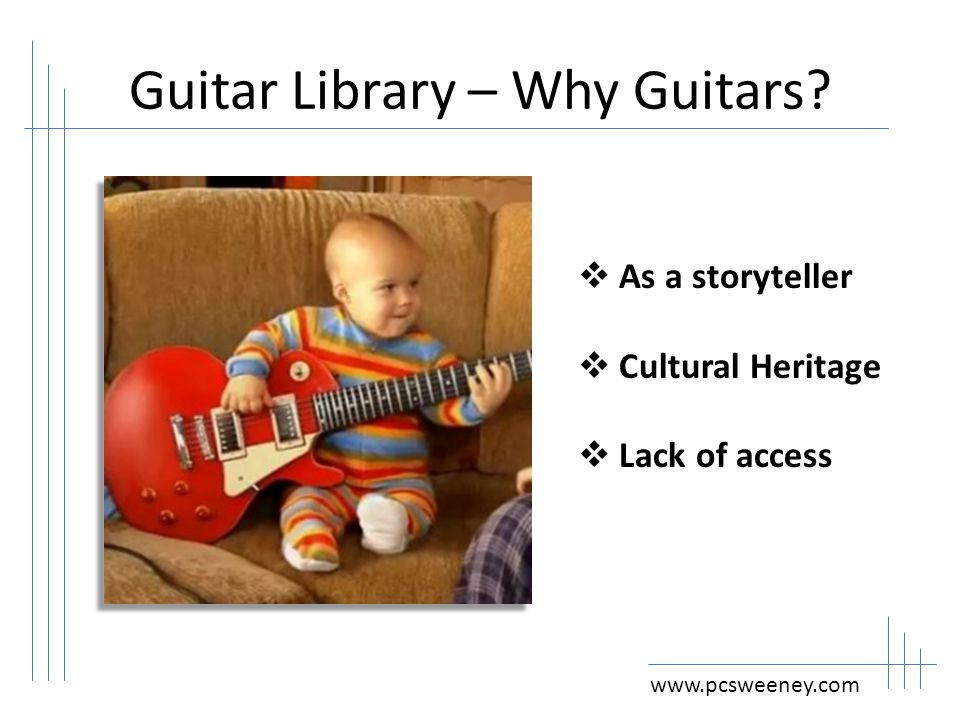 Guitar Collections: What Comes after Books? Patrick Sweeney San Mateo County Library