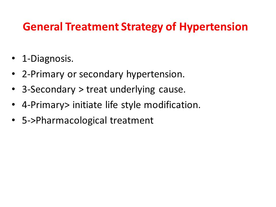 General Treatment Strategy of Hypertension 1-Diagnosis.