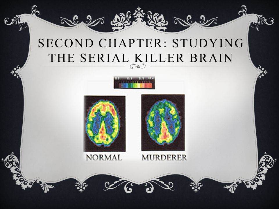 SECOND CHAPTER: STUDYING THE SERIAL KILLER BRAIN