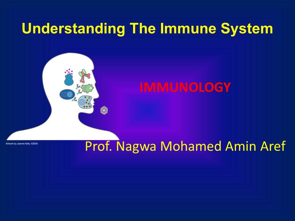 Understanding The Immune System IMMUNOLOGY Prof. Nagwa Mohamed Amin Aref