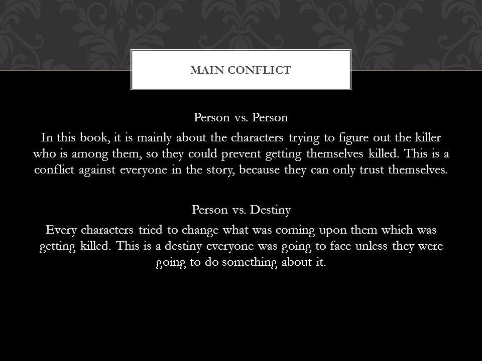 Person vs.